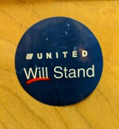 United Will Stand Sticker